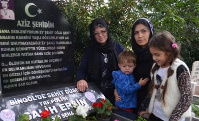 Şehit Polis Memuru Ersin Dualarla Anıldı