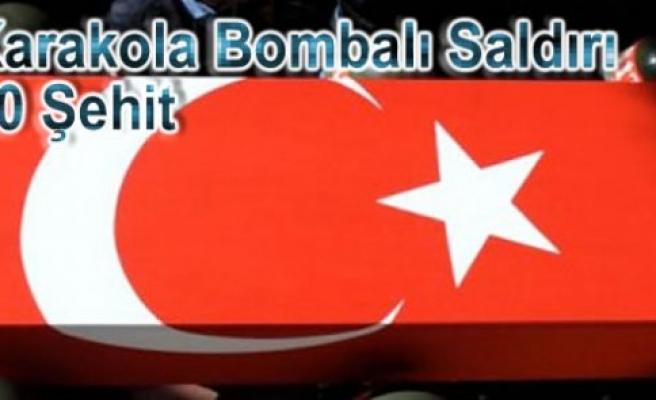 Şemdinli'de Bombalı Araçla Saldırı; 10 Asker Şehit