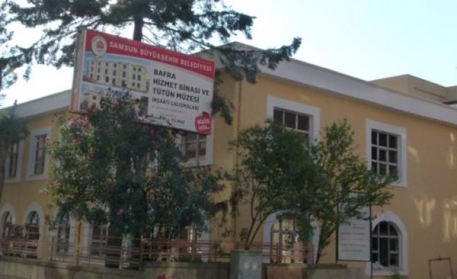 Türkiye'nin ilk 'Tütün Müzesi' Bafra'da yapılıyor