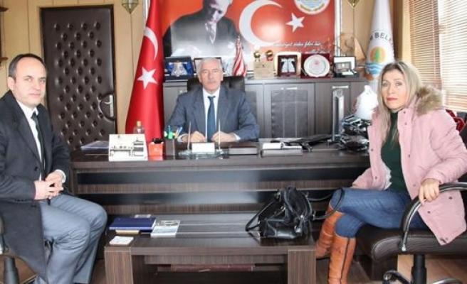Yeni Atanan Kredi Yurtlar Müdüründen Başkan Hadi UYAR'a Ziyaret