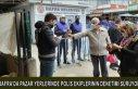 BAFRA'DA PAZAR YERLERİNDE POLİS EKİPLERİNİN...