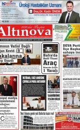 Bafra Haber, Bafrahaber, Bafra Haberleri, altinovagazete.com - 02.12.2020 Manşeti