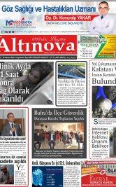 Bafra Haber, Bafrahaber, Bafra Haberleri, altinovagazete.com - 04.11.2020 Manşeti