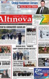 Bafra Haber, Bafrahaber, Bafra Haberleri, altinovagazete.com - 01.03.2021 Manşeti