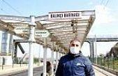 Samsun'da tramvay beklerken kalp krizi geçiren vatandaşı kurtaran güvenlik görevlisi: