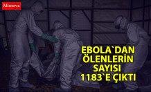 Ebola'dan ölenlerin sayısı 1183'e çıktı