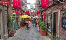Çin'in sanat labirenti 'Tienzıfang'