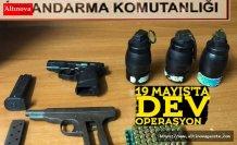 19 Mayıs'da jandarmadan silah operasyonu