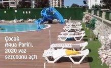 Çocuk Aqua Park'ı, 2020 yaz sezonunu açtı