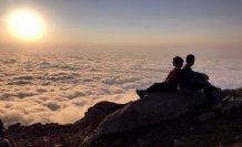 Kaçkar Dağları'nın büyüleyen güzelliği: Bulut Denizi