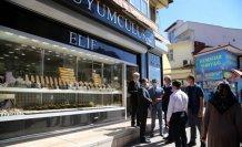 Kastamonu'da kuyumcuların yoğun olarak bulunduğu bölgede her sokak bir polise zimmetlendi