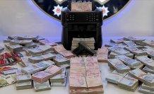 5 milyon lira nakit para ele geçirildi