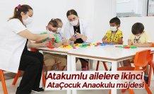 Atakumlu ailelere ikinci AtaÇocuk Anaokulu müjdesi