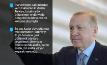 Cumhurbaşkanı Erdoğan: Hazırlıklarımız kamuoyuna sunma aşamasına geldi