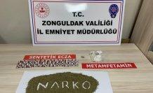 Zonguldak'ta uyuşturucu operasyonunda 4 şüpheli gözaltına alındı
