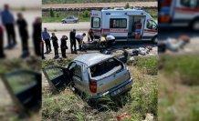 Sinop'ta otomobil devrildi: 4 yaralı