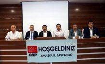 CHP Genel Başkan Yardımcısı Veli Ağbaba Amasya'da temaslarda bulundu: