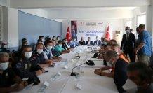 Cumhurbaşkanı Yardımcısı Oktay, sel bölgesinde incelemelerde bulunmak üzere Sinop'a geldi
