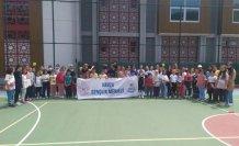 Havza'da yaz Kur'an kursu öğrencileri için spor etkinliği düzenlendi