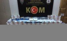 Samsun'da bandrolsüz makaron operasyonunda 4 kişi yakalandı