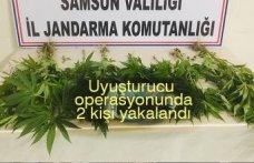 Uyuşturucu operasyonunda 2 kişi yakalandı