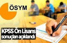 KPSS Ön Lisans sonuçları açıklandı