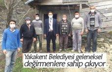 Yakakent Belediyesi geleneksel değirmenlere sahip çıkıyor