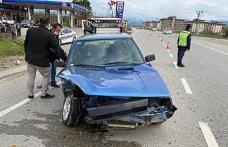 Çarşamba'da trafik kazası: 2 yaralı