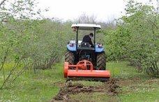 Çarşamba'da üreticilere organik gübre ve ekipman desteği