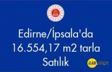 Edirne/İpsala'da 16.554,17 m2 Satılık tarla