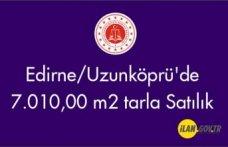 Edirne/Uzunköprü'de 7.010,00 m2 Satılık tarla