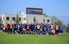 Trabzonspor, Gençlerbirliği maçının hazırlıklarını tamamladı