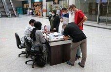 Karabük'te alışveriş merkezinde randevusuz aşı hizmeti sunuldu