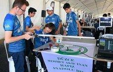 İHL'nin hafız öğrencileri TEKNOFEST'te insansız hava araçları yarışında başarı hedefliyor