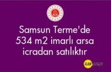 Samsun Terme'de 534 m² imarlı arsa icradan satılıktır
