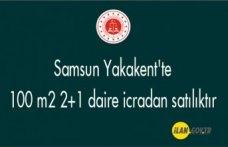Samsun Yakakent'te 100 m² 2+1 daire icradan satılıktır