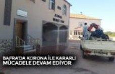 BAFRA'DA KORONA İLE KARARLI MÜCADELE DEVAM EDİYOR