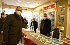 CHP Ekonomi Masası Heyeti, Çorum'da esnafı ziyaret etti