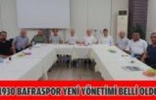 1930 BAFRASPOR YENİ YÖNETİMİ BELLİ OLDU