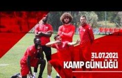 Samsunspor Bolu'daki kamp çalışmalarını sabah yaptığı antrenmanla sürdürdü.