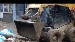 Atakum Belediyesi İş Makinaları ile Arhavi'de