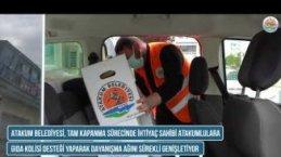 Atakum Belediyesi'nden Bayram Öncesi Gıda Yardımı Desteği