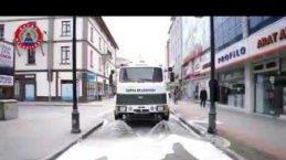 Cadde ve Sokaklarda Bayram Temizliği