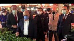 Vali Zülkif Dağlı'dan Bafra'ya Ziyaret