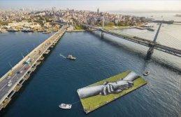 'Dünyanın en büyük insan zinciri' İstanbul'dan geçiyor