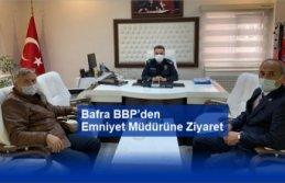 Bafra BBP den  Emniyet Müdürüne Ziyaret
