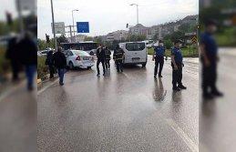 Karabük'te zincirleme trafik kazası: 1 yaralı