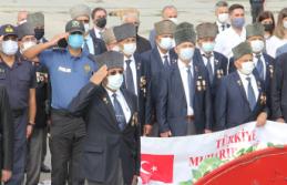 """BAFRA'DA """"19 EYLÜL GAZİLER GÜNÜ""""  DÜZENLENEN TÖRENLE KUTLANDI"""