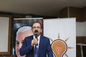 Bafra'da AK Parti İlçe Danışma Kurulu  Toplantısı Yapıldı