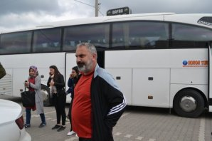 Harem Turizm Misafirlerini Dönerhan'da Ağırladı
